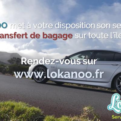 Transfertde bagage à la Réunion - 10.50€/valise - Aéroport Roland Garros