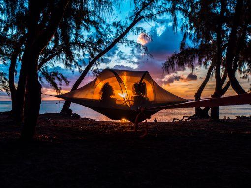 Tente suspendu ile de La Réunion